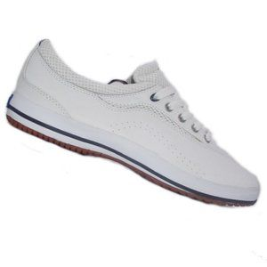 Women's White Leather Keds Champion Luxe  Size 8